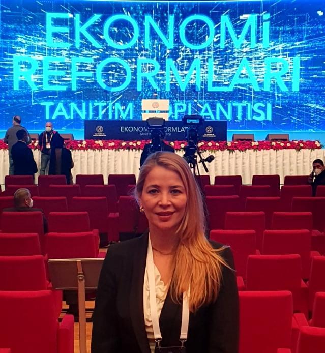 TÜGİAD Genel Başkanı Nilüfer Çevikel: Reform paketi, umut verdi, ekonominin tüm taraflarını kapsıyor