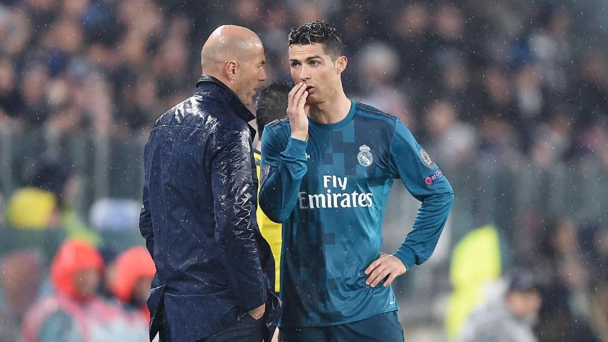 Zinedine Zidane dan Ronaldo ya yeşil ışık #1