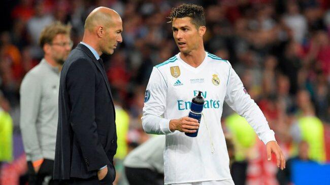 Zinedine Zidane'dan Ronaldo'ya yeşil ışık