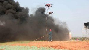 İtfaiyeci Drone'lar